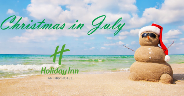 Holiday Inn Westbury-Long Island is Offering a Special Christmas in July Deal for Company Holiday Party Planners